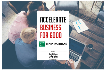 ACCELERATE BUSINESS FOR GOOD